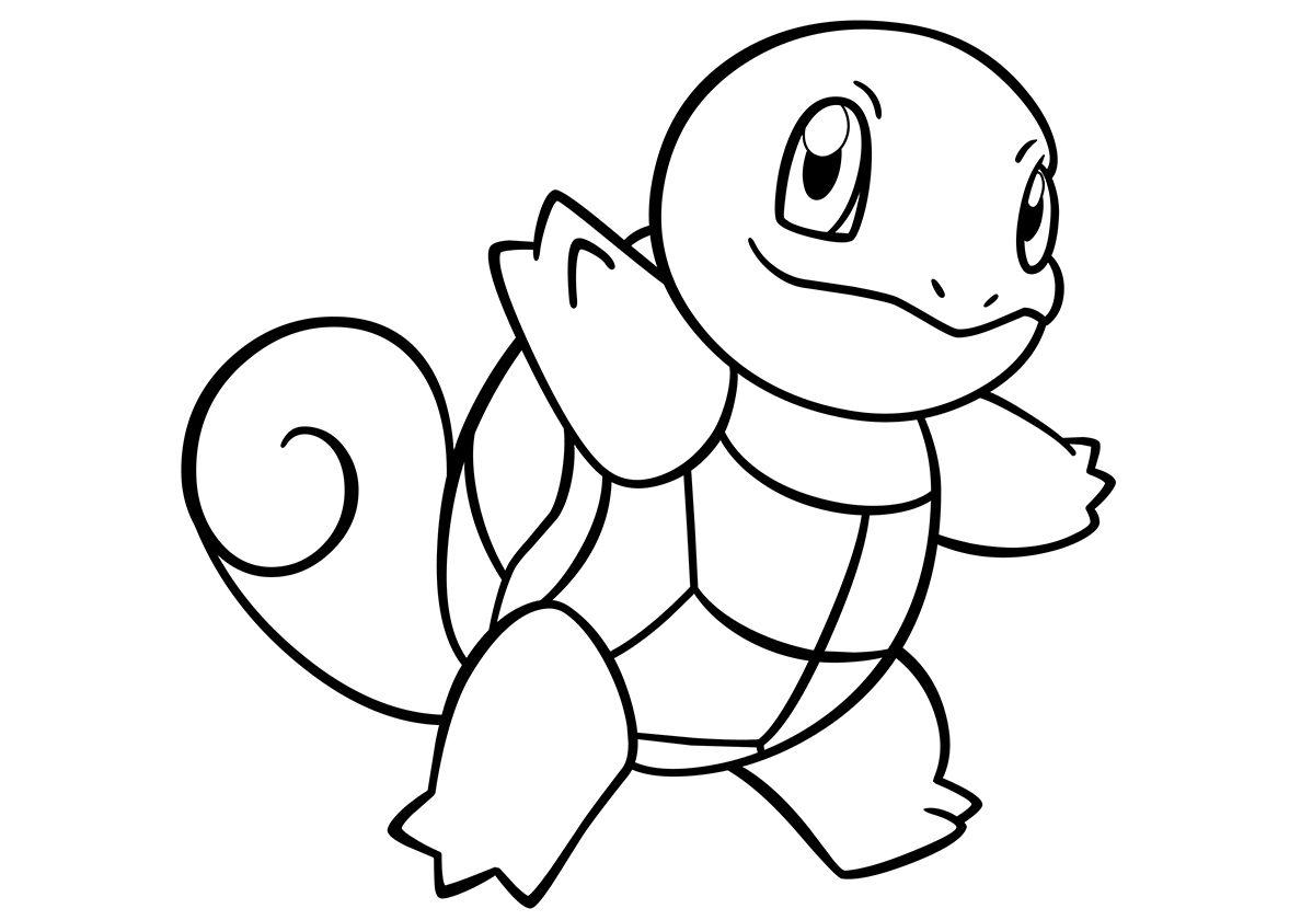 6 Desenhos Do Squirtle Para Baixar Imprimir Colorir E Pintar